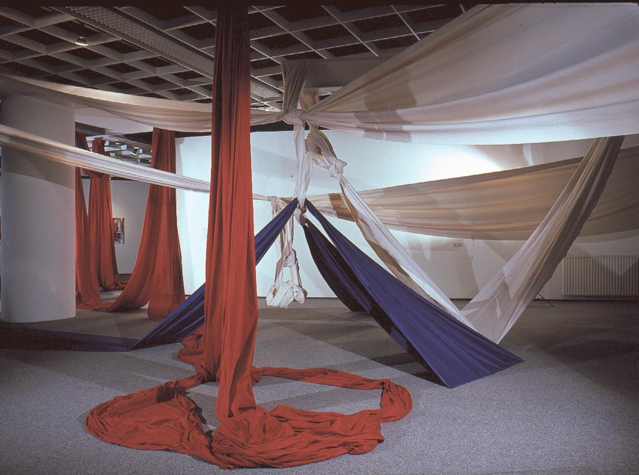 Ine Schröder, zonder naam, 1981, Bonnefantenmuseum Maastricht Atelierexpositie 1981, foto Ine Schröder